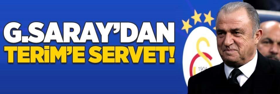 Galatasaray'dan Fatih Terim'e servet!