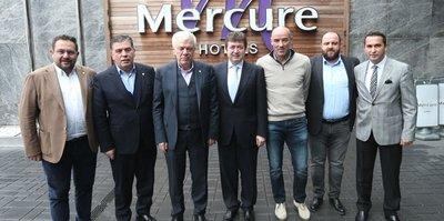 Bursaspor'dan TFF yöneticisi Çağlar'a ziyaret
