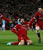 Salah, Premier Lig'den sonra Devler Ligi'ni de salladı!