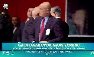 Galatasaray'da maaş sorunu!