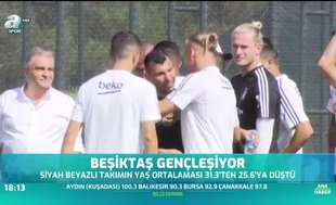 Beşiktaş gençleşiyor
