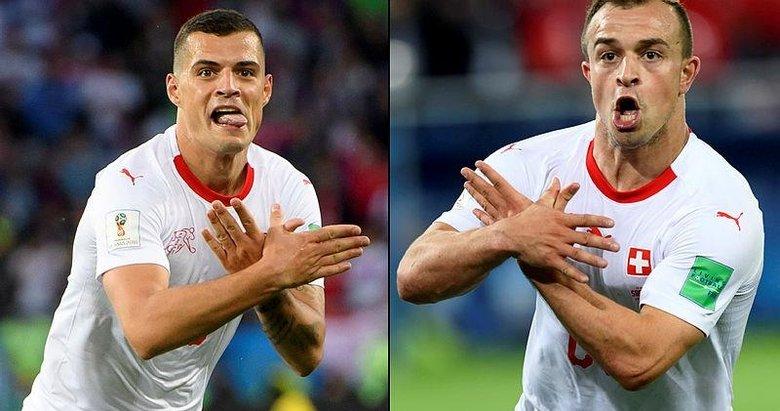 FIFA'dan Sırbistan ve İsviçre'ye para cezası