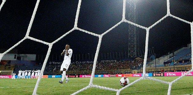 Ekuban kaçırdı Gana elendi