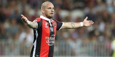 Sneijder'e Fransa'da şok!