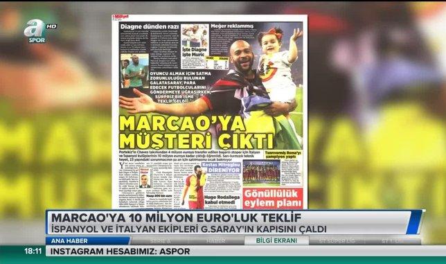 Marcao'ya 10 milyon Euro'luk teklif | Video