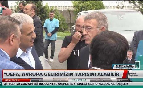 """Ahmet Ağaoğlu: """"Enseyi karatmaya gerek yok"""""""