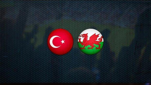 Türkiye - Galler maçı CANLI