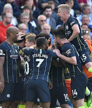 Premier Lig'de şampiyon M.City!