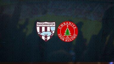 Bandırmaspor - Ümraniyespor maçı ne zaman, saat kaçta ve hangi kanalda canlı yayınlanacak? | TFF 1. Lig