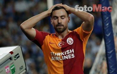 Galatasaray'da Sinan Gümüş depremi!