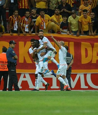 Kayserispor 0-1 Alanyaspor