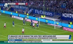 Fenerbahçe ve Galatasaray'ın Holtby mücadelesi