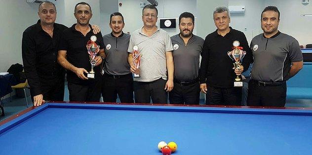 Batı Karadeniz Bilardo Şampiyonası Düzce'de yapıldı