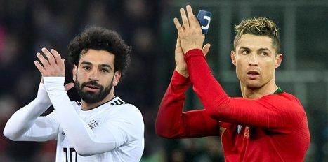 Mohamed Salah Ronaldo'yu solladı