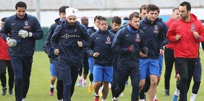 Trabzonspor'da, Konyaspor hazırlıkları