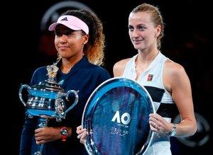Avustralya Açık'ta Kvitova'yı finalde yenen Naomi Osaka şampiyon oldu