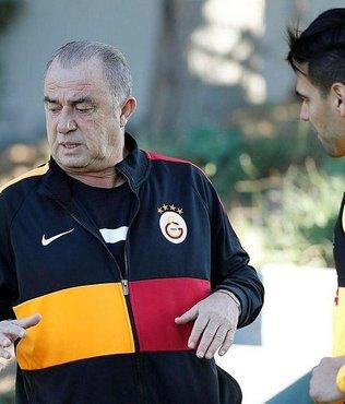 Galatasaray'da Fatih Terim'den açıklama! ''Falcao ile konuştum...'