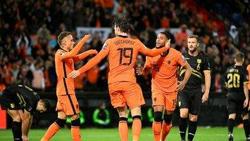 Hollanda Cebelitarık'a gol yağdırdı!