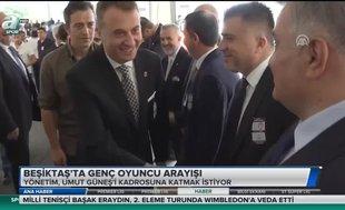 Beşiktaş'ta genç oyuncu arayışı