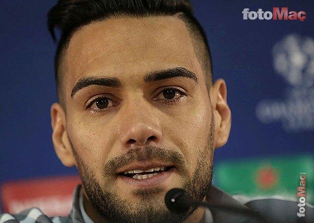 Falcao'dan son dakika transfer açıklaması! Galatasaray'ın teklifini...