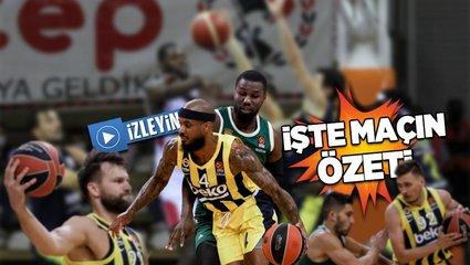 Son dakika... Panathinaikos Fenerbahçe Beko: 82-68   Panathinaikos Fenerbahçe maçı ÖZET İZLE