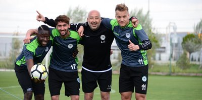 Konyaspor, hazırlıklarını sürdürdü