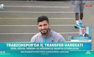 Trabzonspor'da transfer harekatı! Sosa ve Novak...