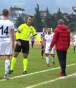 Hatayspor - Gençlerbirliği maçında ilginç an