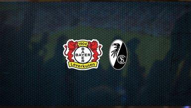 Bayer Leverkusen - Freiburg maçı ne zaman, saat kaçta ve hangi kanalda canlı yayınlanacak? | Almanya Bundesliga