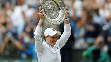 Son dakika spor haberleri | Wimbledon tek kadınlarda şampiyon Ashleigh Barty!