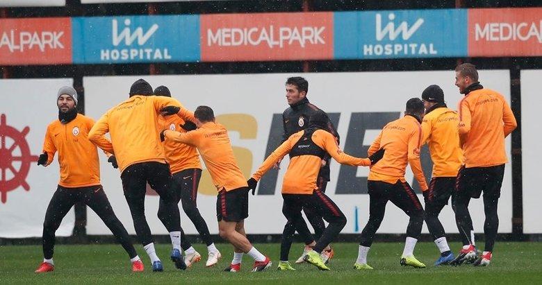 Galatasaraya müjde! Üç futbolcu çalışmalara başladı