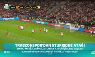 Trabzonspor'dan Sturridge atağı