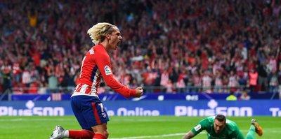 Atletico Madrid galibiyetle açtı