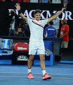 Federer Avustralya Açık'ta yarı finalde