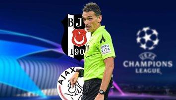 UEFA'dan Beşiktaş Ajax maçına ilginç atama! Fenerbahçe...