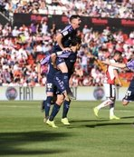 Enes Ünal gol attı Valladolid La Liga'da kaldı
