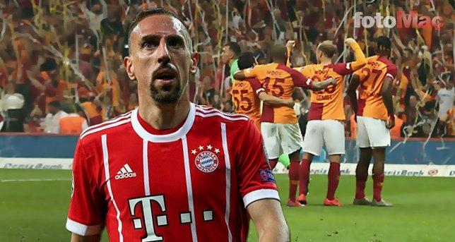Ribery'den şok karar! Galatasaray... Son dakika transfer haberleri...