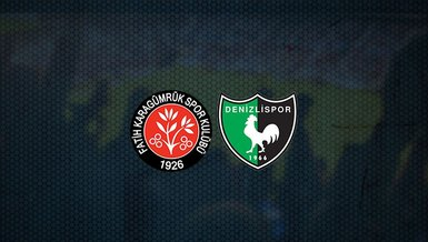 Fatih Karagümrük - Denizlispor maçı ne zaman, saat kaçta ve hangi kanalda canlı yayınlanacak? | Süper Lig