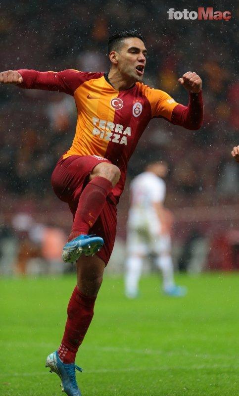 Galatasaray'ın Falcao hüsranı! İşte o tablo
