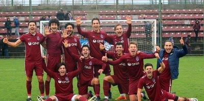 U21'de kazanan Trabzon: 1-0