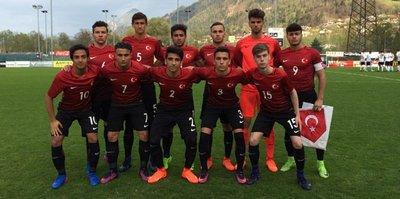 16 Yaş Altı Milli Futbol Takımı'nın konuğu Gürcistan