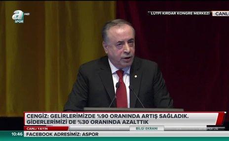 Mustafa Cengiz bonservis Şampiyonlar Ligi ve gişe gelirlerini açıkladı!
