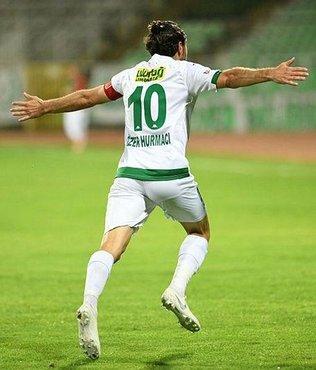 Özer Hurmacı atıyor Bursaspor kazanıyor