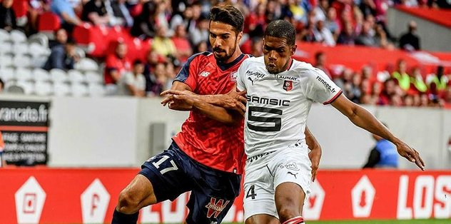 Zeki Çelik'li Lille ilk maçında güldü