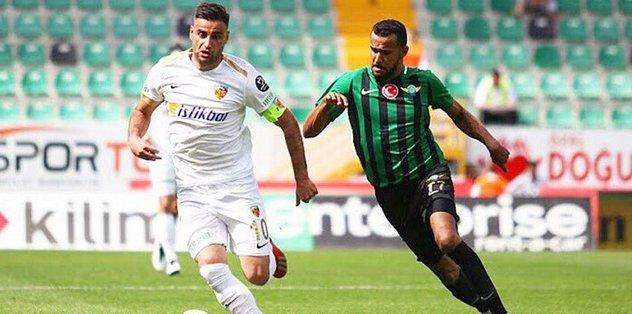 Gyan 90+3'te Kayseri'yi ipten aldı! Tam 4 gol...