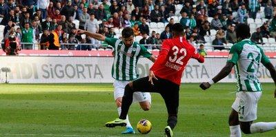 İH Konyaspor 1-1 Gençlerbirliği   MAÇ SONUCU