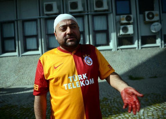 Galatasaray-Karşıyaka maçı öncesi olaylar çıktı