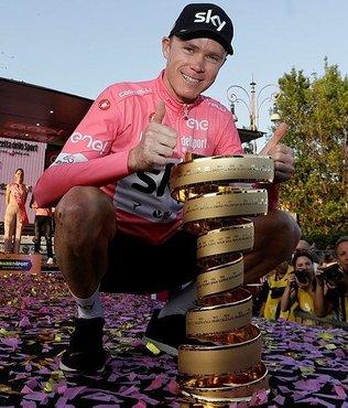 Froome İtalya Bisiklet Turu'nu da kazandı