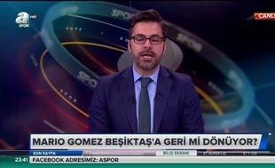 Mario Gomez Beşiktaş'a geri mi dönüyor? Canlı yayında...