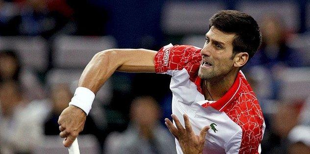 Sırp Novak Djokovic Şangay'da finale kaldı